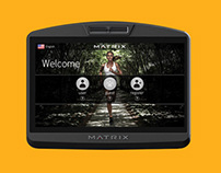 Matrix Fitness 7xi Console