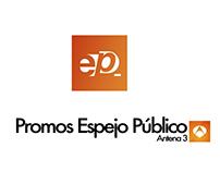 Promo & Graphic Line _ Espejo Público in Antena 3