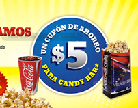 Cupon 5 Pesos - Village Cines