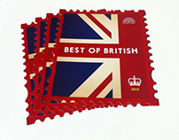 Best of British stamp flyers