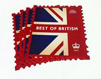 Best of British stamp flyers
