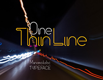 One Thin Line font