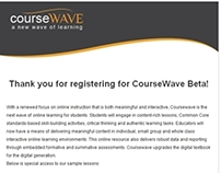 CourseWave Email
