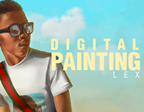 Digital Painting: Lex