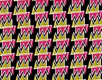 """Pattern """"Corona"""" / China Exhibition 2020"""