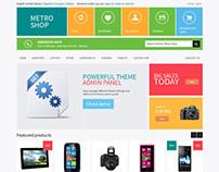 MetroShop, PrestaShop Responsive Metro Style Theme