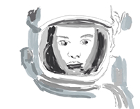 AstroGirl - Testing out the new Adobe Ink & Slide