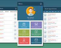 Miracle EMR Mobile App Design