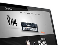 Diezel Amplification Website Design