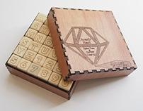 Handmade Alphabet Stamp Set