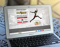 Retro Fitness Landing Pages