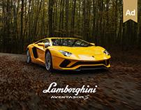 Lamborghini Aventador S - Launch campaign