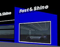 Fast & Shine logo , Exterior - Interior Design