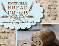 Knoxville Bread Co-op information card