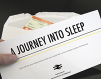 A Journey Into Sleep // branding