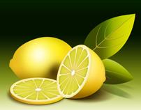 Fresh Lemon Graphic