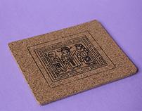 Gim Zua (Joss Paper) Coaster
