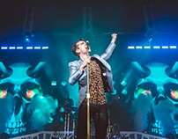 Panic! At The Disco 3D Visuals for 2016 Tour.