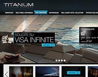 Sitio web VISA - TITANIUM