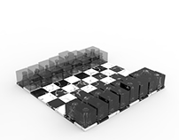 negative chess set