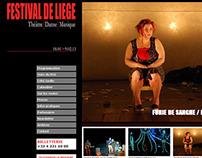 Festival de Liège / Site Web