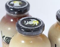 Kofi Package + Bottle Design