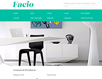 Office Supply Website—Facio