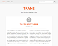 TRANE | Just another wordpress theme