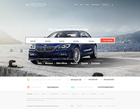 Rent A Car Agency Booking Web Design