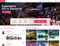 Zillion Holidays Travel Portal Design