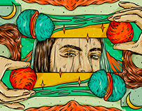 Editorial Illustrations for Bandcamp Daily