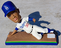 Dodgers BobbleHead Maury Wills