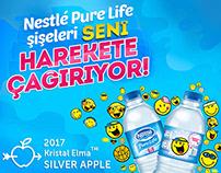 Nestlé Pure Life | Eğlenceli Yüzlerle Hareket Zamanı