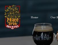 Peace Tree Brewing Website Re-build