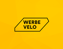 Bicycle advetisement gamification startup web UI/UX