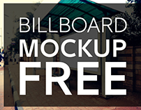 Free Billboard MOCK-UP