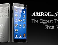 Custom Commodore Amiga smartphone concept