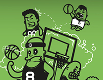Poster 3x3 basket
