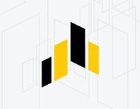 Логотип строительной компании «Атлант»