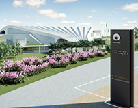 UNICAMP - Sinalização de Centro de Convenções