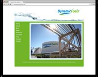 dynamicfuelsllc.com redesign