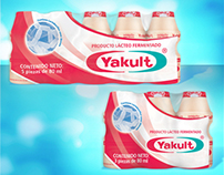 Packs Yakult