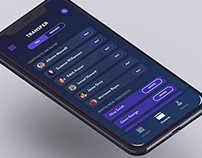 Money Transfer UI - Digital Bank