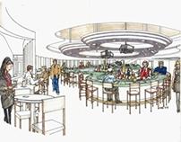 Exterior+Interior View of BAR Area19th Hole Restaurant