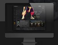 Spogogo Web UI Design