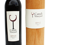 Canali Vineyard Wine Bottle