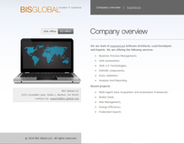 BIS Global temporary website
