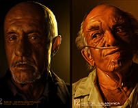 "4 characters from ""Breaking Bad"""