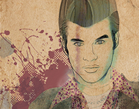 Men Fashion Illustration - Paper Edition