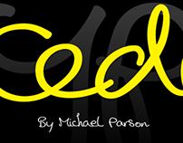 Cedi typeface
